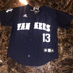 Yankees Baseball Jersey-Blue